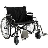 Усиленная инвалидная коляска 66 см, фото 2