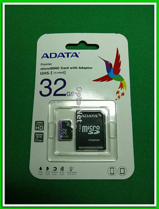 Карта памяти ADATA SDHC 32GB Class 10