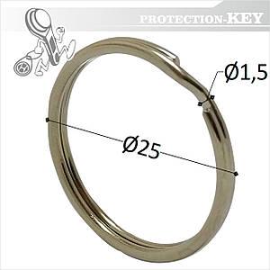 Кольцо заводное Ø25 * 1,5 мм ( круглое)