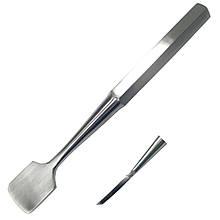 Распатор для отделения надкостницы от кости периостальный с незначительным изгибом по Key. Размер 19 см, ширина 25 мм