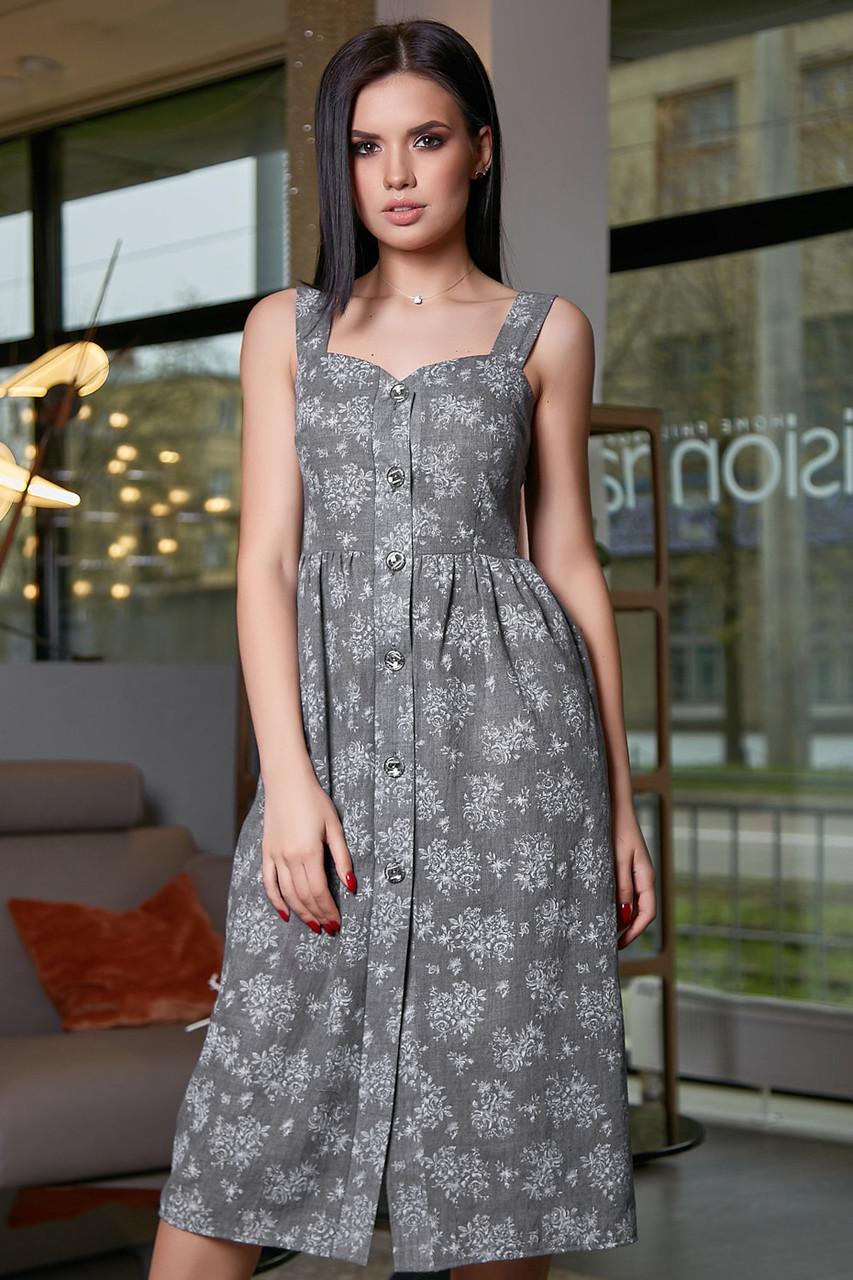 0b58a59401ee27 Жіноче літнє плаття, сіре, з квітковим принтом, молодіжне, повсякденне,  пляжне,