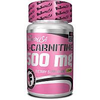 Жиросжигатель L-карнитин BioTech L-Carnitine 500 mg (60 таб)