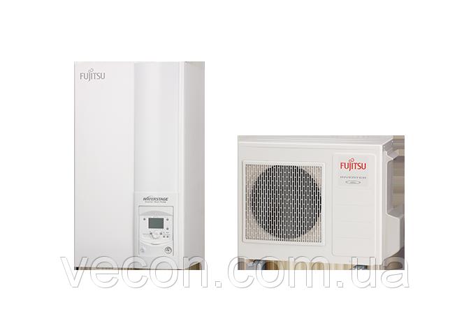 Тепловой насос Fujitsu Compact WSYP100DG6 / WPYA080LG (воздух-вода)