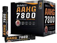 Аминокислоты BioTech AAKG 7800 (20*25 мл)