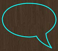 Вырубка для пряника мастики разговорная тучка
