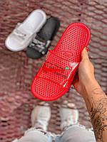 Сланцы Nike x Off-white Slides Full red Полностью красные, фото 1