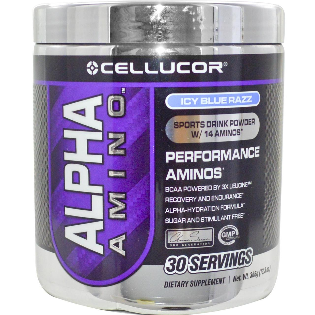 BCAA аминокислоты Cellucor ALPHA Amino 30 порц. (366 г)