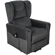 Кресло подъемное с двумя моторами, BERGERE (грифельно-серого цвета), фото 2