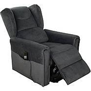 Кресло подъемное с двумя моторами, BERGERE (грифельно-серого цвета), фото 3