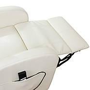 Подъемное кресло с двумя моторами CAROL (белого цвета), фото 7