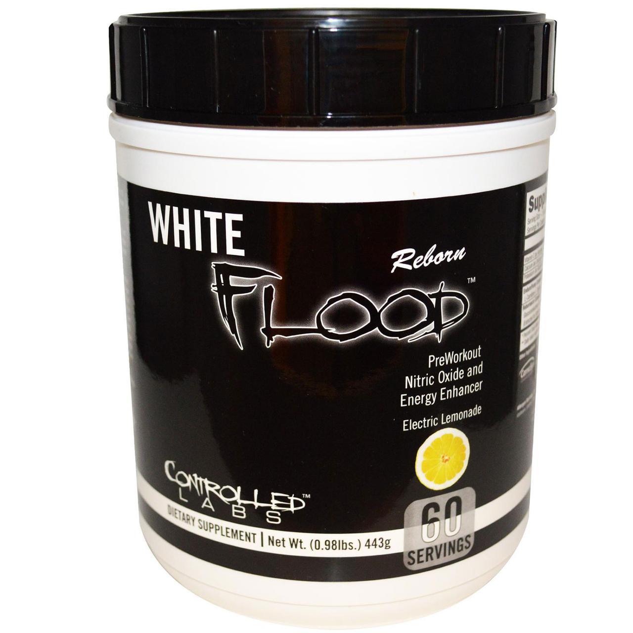 Предтренировочный комплекс Controlled Labs White Flood Reborn 30 порц. (216 г)