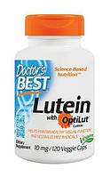 Препарат для улучшает работы глаз Doctor's Best Lutein with OptiLut (10 мг) (120 капс)
