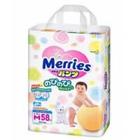 Трусики японские Merries (Мерриес) M (6-10кг) 58шт. Памперсы.