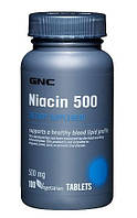 Минеральный комплекс на основе никотиновой кислоты GNC Niacin 500 (100 таб)