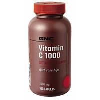 Витаминно-минеральный комплекс GNC Vit C 1000 Rose Hips (100 капс)