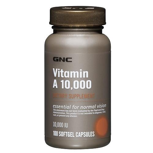 Витамины GNC Vitamin A 10.000 (100 капс)