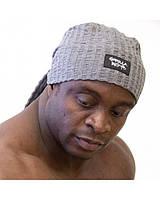 Тренировочная шапка-бандана Gorilla wear Seersucker Work out cap (Gray)