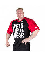 Футболка Gorilla wear Colorado Oversized T-Shirt (Black/Red)
