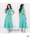 Женское летнее платье батал от Фабрика моды 50,52,54,56,58,60 , фото 3