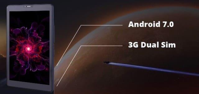 """Nomi C101012 Ultra 3 10"""" 16Gb Blue 3G: аппаратная часть оснащена процессором MediaTek MT8321"""