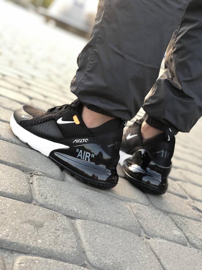 Кроссовки Nike Air Max 270 Черные, фото 2