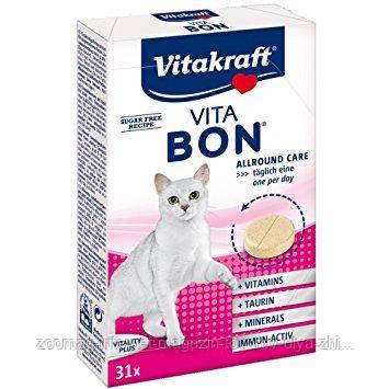 """Мультивитаминный комплекс """"Vita-bon"""" для кошек (31 шт.) Vitakraft™"""