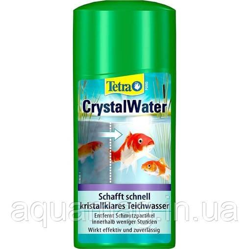 TetraPond Cryctal Water 1000 мл биопрепарат против мутной и зеленой воды в пруду с рыбами, кои, коме