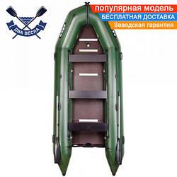 Килевая лодка Argo АМ-450К с жестким дном восьмиместная + краска д/номеров