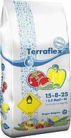 Terraflex - T (15-8-25 + 3,5 MgO + TE) - для томатів, перцю, баклажанів, картоплі (25кг)