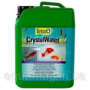 TetraPond Cryctal Water 3000 мл биопрепарат против мутной и зеленой воды в пруду с рыбами, кои, коме