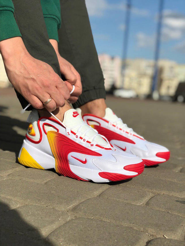 Кроссовки Nike Zoom 2K Белые-Красные, фото 2