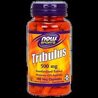 Трибулус NOW Tribulus 500 mg (100 капс)
