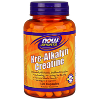 Креатин NOW Kre-Alkalyn Creatine (120 капс)