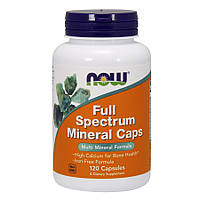 Минеральный комплекс из концентрата микро и макроэлементов NOW Full Spectrum Minerals (120 капс)