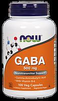 Активный стимулятор гормона роста NOW GABA 500 мг (100 капс)