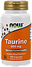 Аминокислоты NOW Taurine 500 мг (100 капс)