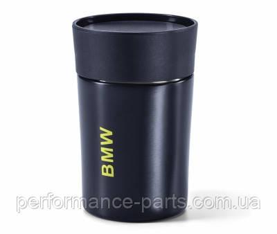 Термокружка BMW Active Thermal Mug, Blue Nights / Wild Lime, артикул 80282461018