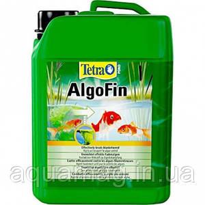 TetraPond AlgoFin 3л препарат для борьбы с нитевидными водорослями в пруду с рыбами, кои, кометами