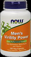 Бустер тестостерона NOW Foods Men's Virility Power (120 капс)