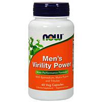 Бустер тестостерона NOW Foods Men's Virility Power (60 капс)