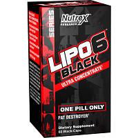 Жиросжигатель Nutrex Lipo 6 Black Ultra Concentrate (60 капс)