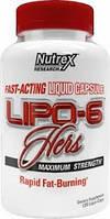 Жиросжигатель Nutrex Lipo 6 Hers (120 капс)