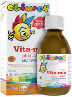 Витамины для детей Olimp Labs Vita-Min Plus Junior Multivitamin (150 мл)