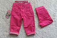 Котоновые бриджи для девочек 6- 12 лет