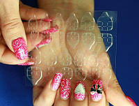 Двухсторонний скотч для дизайна ногтей Мир Леди