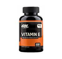 Витамины Optimum Nutrition Vitamin E (400 IU) (200 капс)