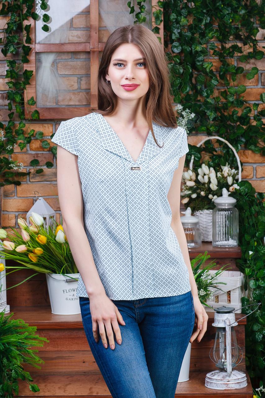 Летняя блуза мята, Бл- 5920