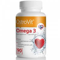 Комплекс незаменимых жирных кислот Ostrovit Omega 3 (90 капс)