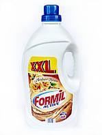 Гель для стирки светлого белья Formil Active Amber Lowely 5л(66стирок)