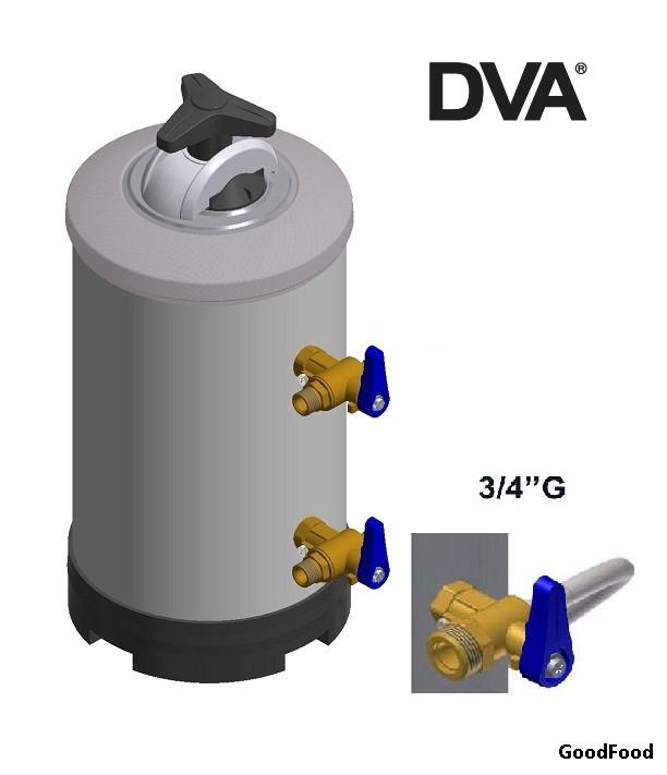 Фільтр-пом'якшувач для води DVA 16LT